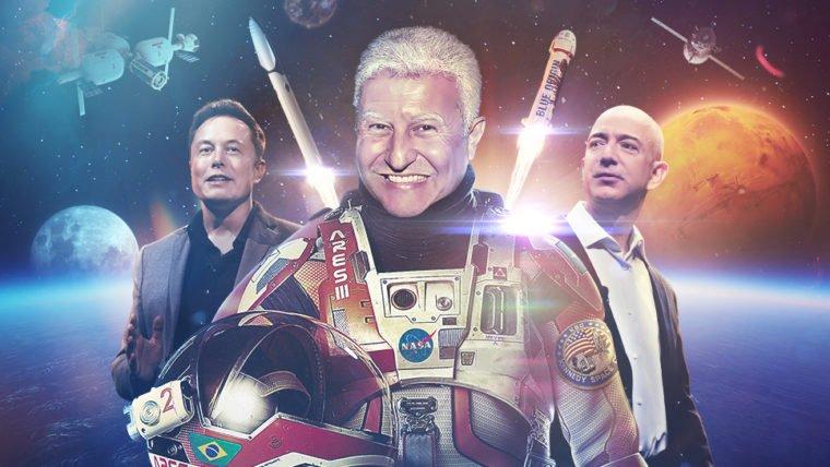 A nova corrida espacial