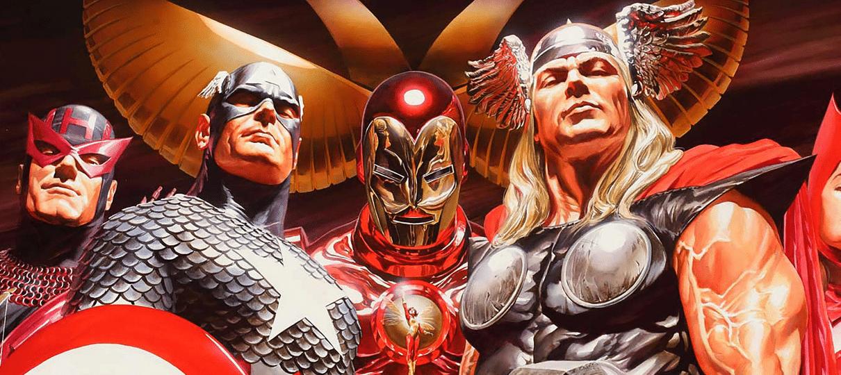 Alex Ross fala sobre as diferenças fundamentais dos personagens da Marvel e DC