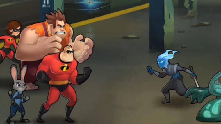 Personagens da Disney e Pixar mostram seu poderes em trailer de jogo para celulares
