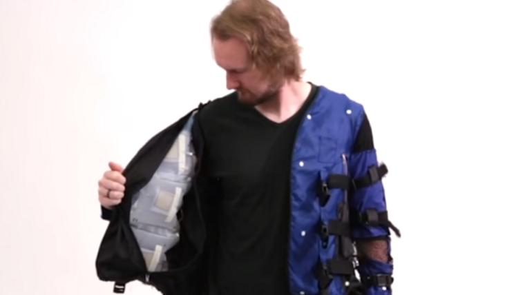 Disney cria jaqueta que imita sensações físicas como abraços (e socos!)