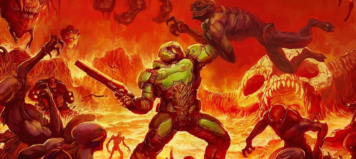 Nova adaptação de Doom deve ser lançada de forma digital