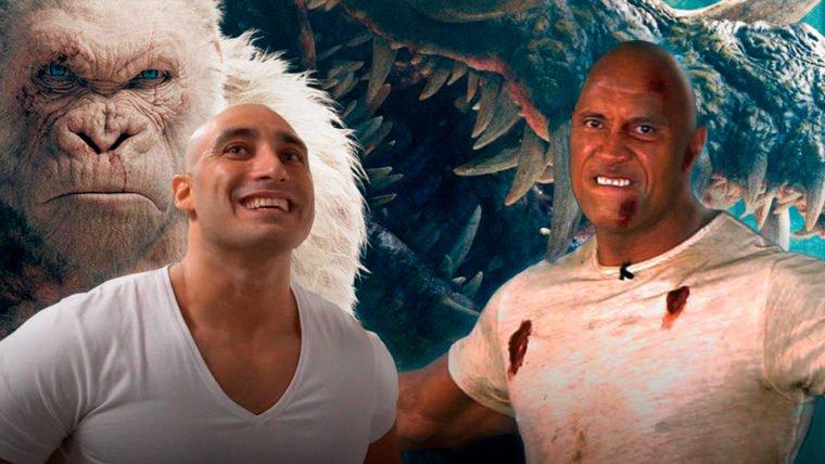 The Rock e Rex destruíram tudo na entrevista de Rampage: Destruição Total
