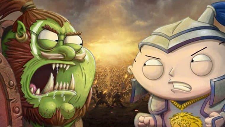 Family Guy | Assista à cena que faz homenagem ao Leeroy Jenkins de World of Warcraft