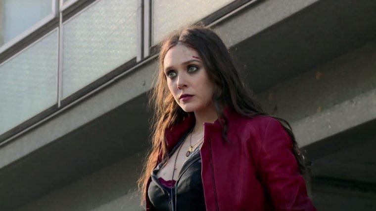 Elizabeth Olsen gostaria de um filme solo da Feiticeira Escarlate