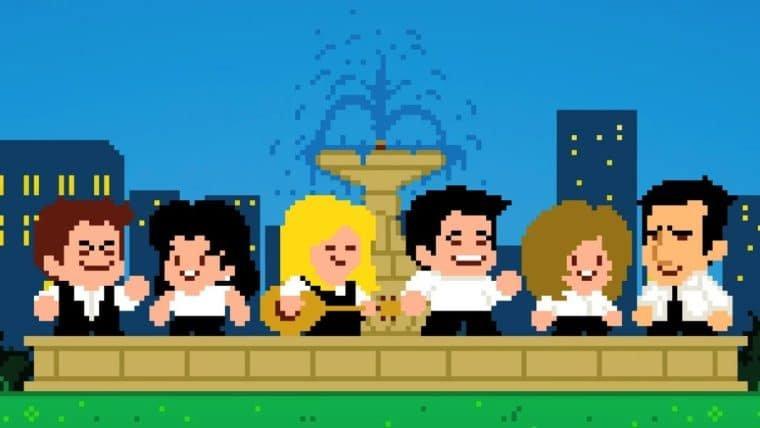 Friends ganha abertura em versão retrô