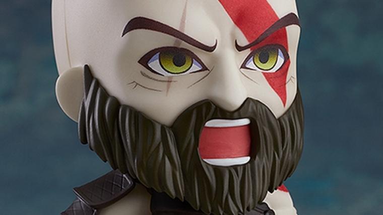 Kratos ganhou uma versão Nendoroid e não estamos conseguindo lidar