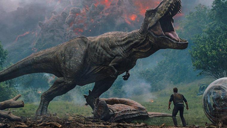 Dinossauros enormes são uma ameaça no novo teaser de Jurassic World: Reino Ameaçado