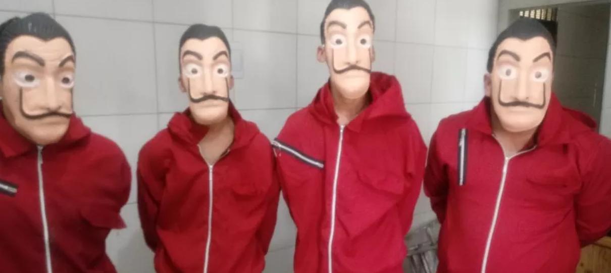 La Casa de Papel | Youtubers presos em pegadinha pagam fiança de R$ 15 mil