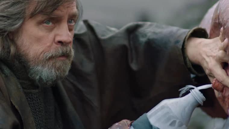 Luke ordenha alienígena em vídeo de bastidores de Star Wars: Os Últimos Jedi