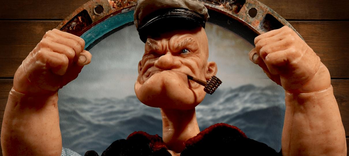 Popeye ganha figure realista e não sabemos como nos sentir