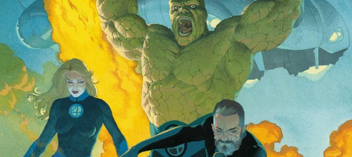 Marvel divulga capa da HQ de retorno do Quarteto Fantástico