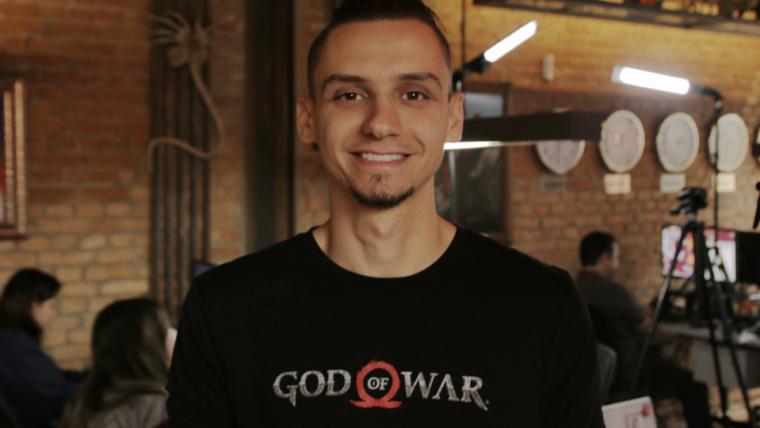 God of War | Rafael Grassetti veio ao NerdBunker e respondeu perguntas de fãs; assista