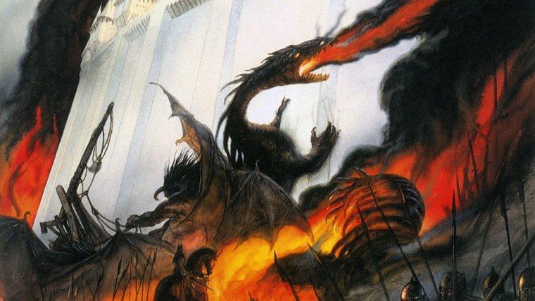 The Fall of Gondolin |  Novo livro de J.R.R. Tolkien será lançado neste ano