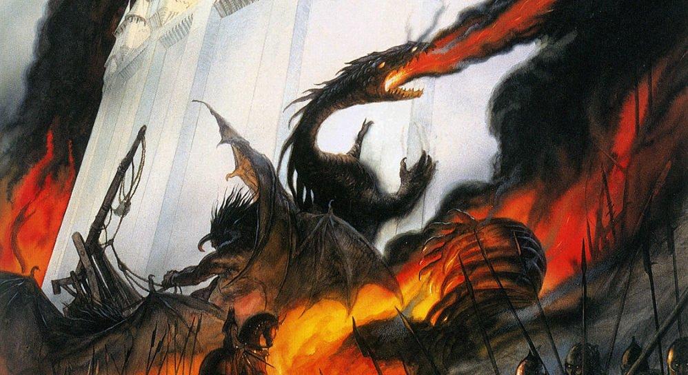The Fall of Gondolin    Novo livro de J.R.R. Tolkien será lançado neste ano