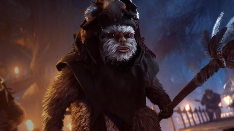 Novo modo de Star Wars Battlefront II deixará você jogar com um Ewok