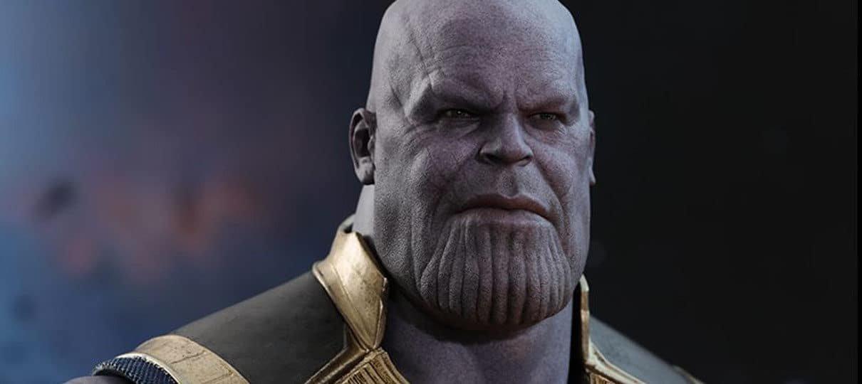 Hot Toys anuncia colecionável majestoso de Thanos em Vingadores: Guerra Infinita