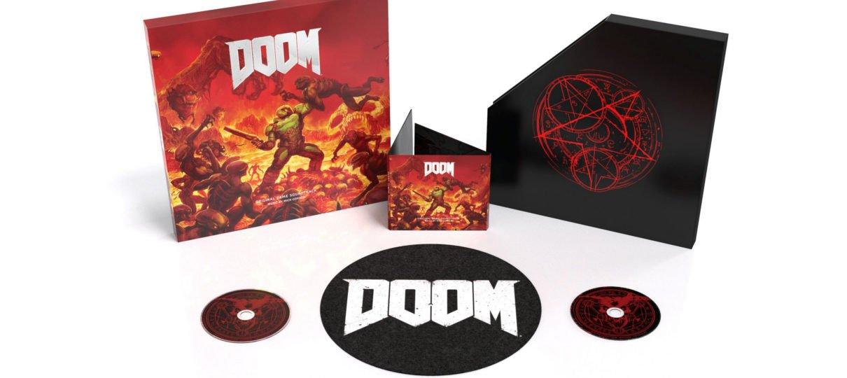 Trilha sonora de Doom ganhará lançamento físico