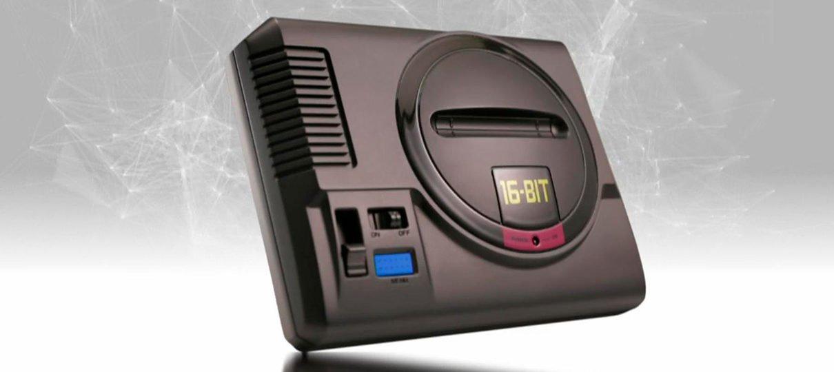 Sega anuncia Mega Drive Mini