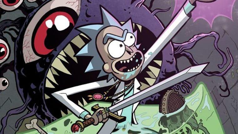 Rick e Morty vão viver aventuras em HQ com criaturas de Dungeons and Dragons