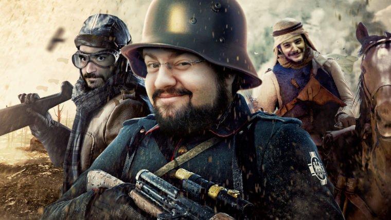 Battlefield 1 - Jovem Nerd Sniper de Elite