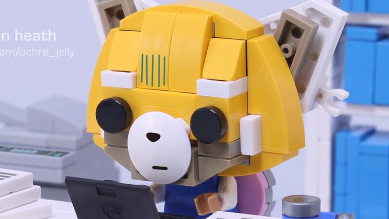 Esse projeto de LEGO da Aggretsuko é tudo o que um cidadão exemplar precisa