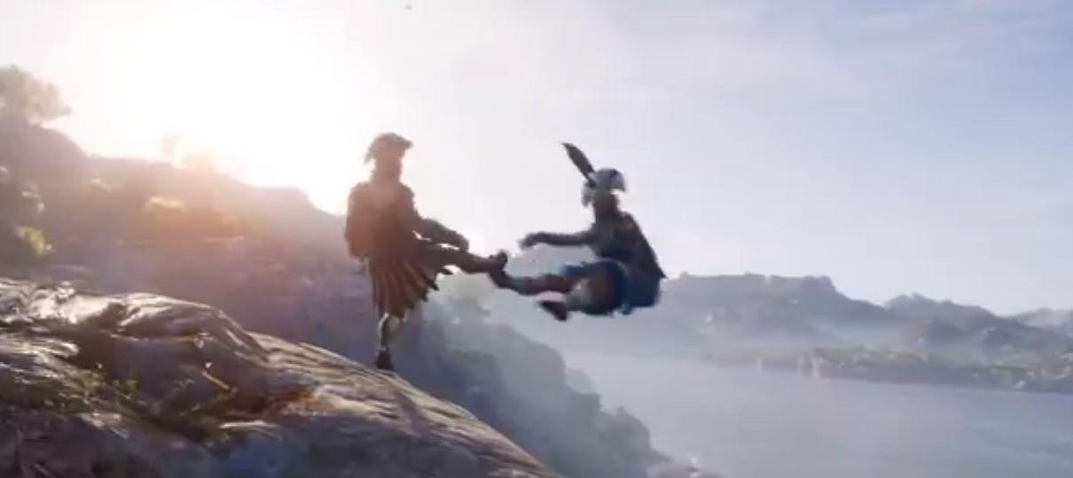 Depois de vazamento, Assassin's Creed Odyssey é revelado oficialmente