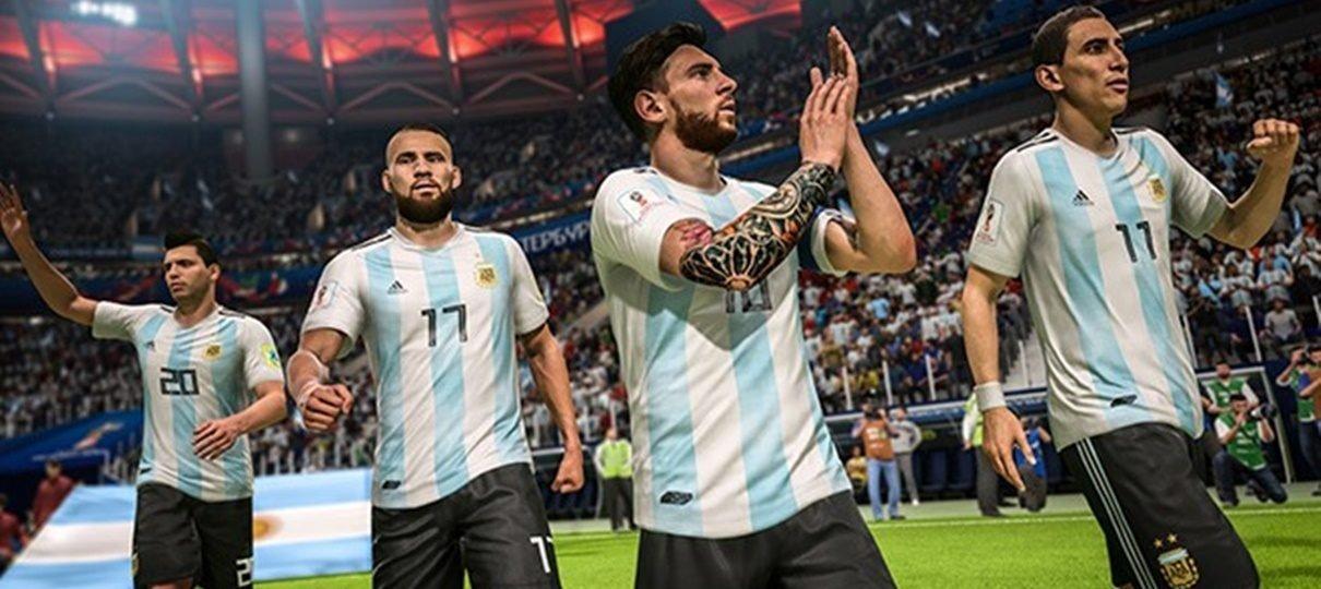 FIFA 18 | Atualização da Copa do Mundo já está disponível