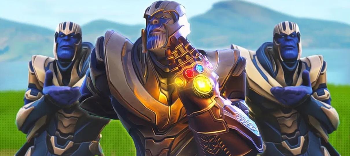 Thanos invadir Fortnite foi uma ideia dos próprios diretores de Guerra Infinita