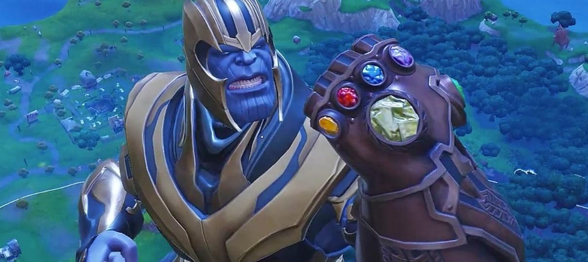 Fortnite | Jogador consegue DESTRUIR o vilão Thanos em confronto mano a mano