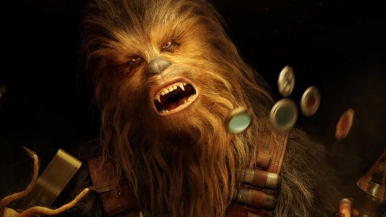 Han Solo: Uma História Star Wars   Novos pôsteres mostram Han e Chewie apostando alto