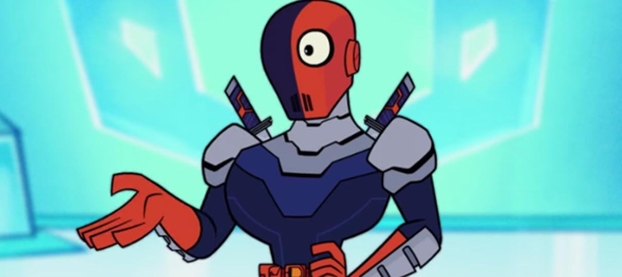 Exterminador zoa Deadpool em novo teaser de Jovens Titãs em Ação! Nos Cinemas