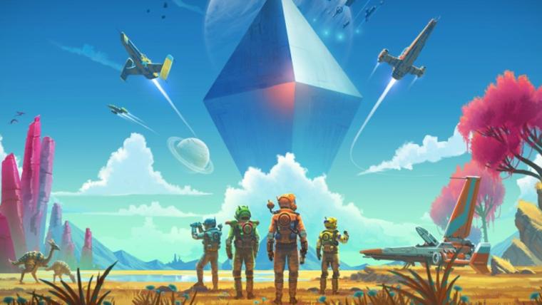 Atualização de No Man's Sky trará multiplayer ao jogo