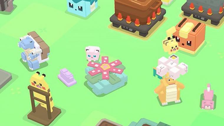 Nintendo anuncia Pokémon Quest, jogo gratuito para celulares e Switch