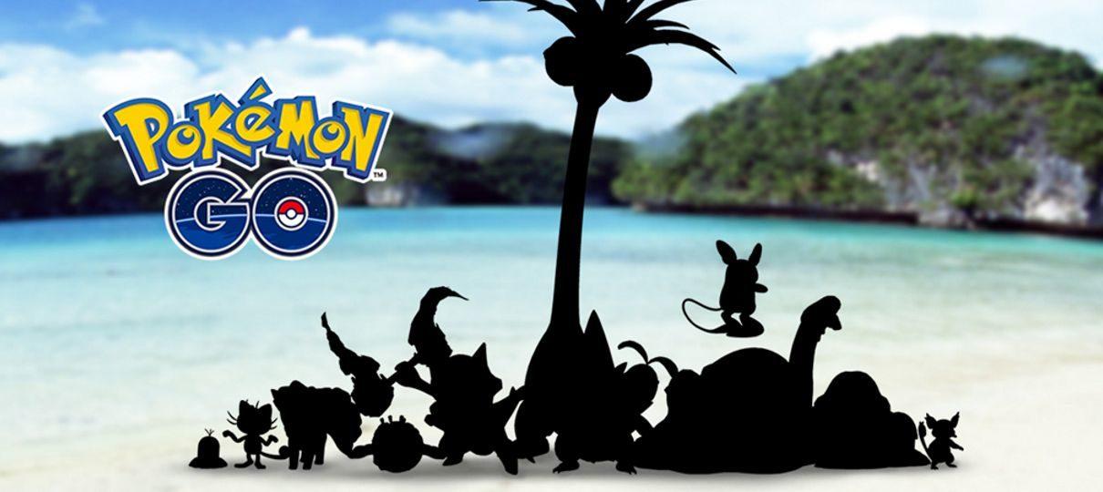 Pokémon GO | Formas de Alola vão chegar ao jogo