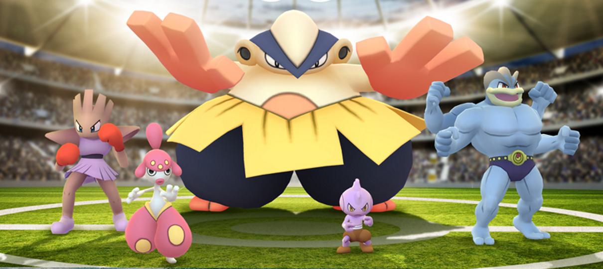 Pokémon GO   Evento aumenta o número de Pokémon lutadores