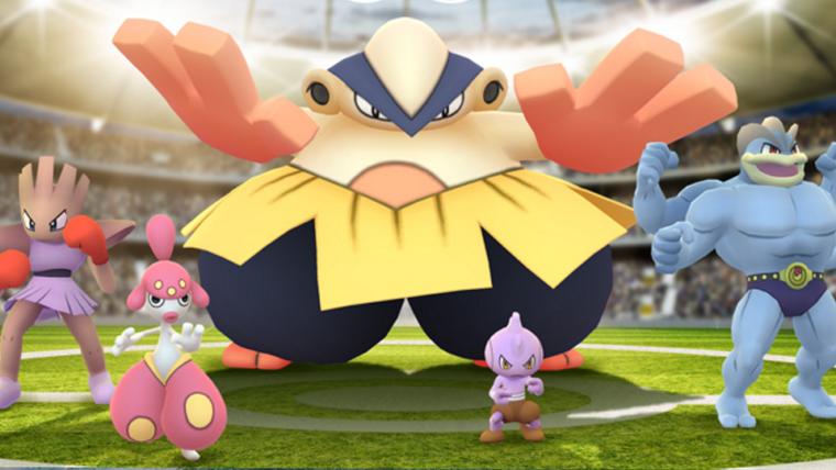 Pokémon GO | Evento aumenta o número de Pokémon lutadores