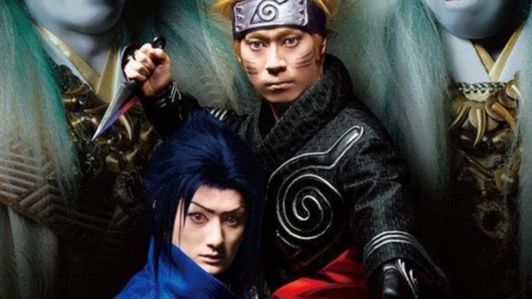 Esse novo pôster da peça de teatro de Naruto vai te dar pesadelos