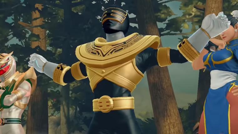 Jogo mobile de Power Rangers fará crossover com Street Fighter