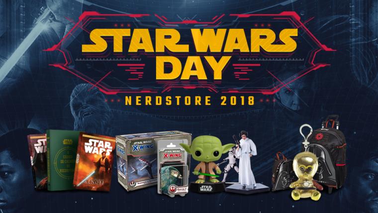 Começou o Star Wars Day Nerdstore!