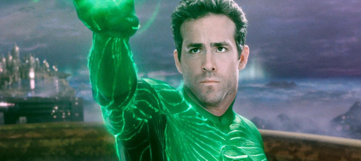 Ryan Reynolds alega que nunca assistiu Lanterna Verde