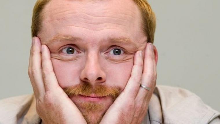 Simon Pegg quer interpretar o Capitão Britânia nos cinemas