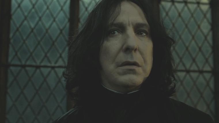 Alan Rickman estava frustrado ao interpretar Snape, revelam cartas