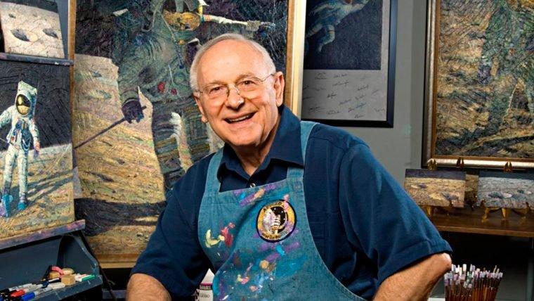 Alan Bean, a quarta pessoa a andar na Lua, morre aos 86 anos