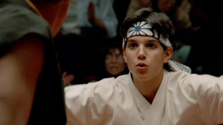 Cobra Kai terá cenas inéditas do Karate Kid original