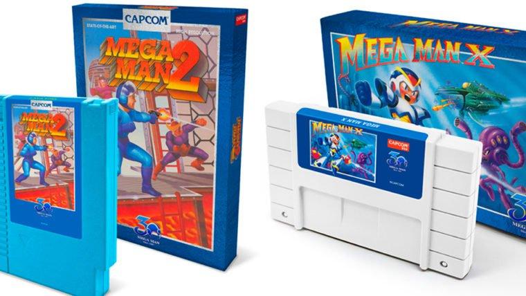 Mega Man 2 e Mega Man X serão relançados em cartuchos