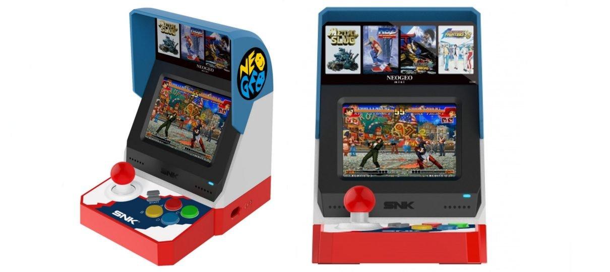 SNK anuncia oficialmente o Neo Geo Mini