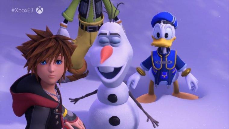 Frozen desembarca em Kingdom Hearts 3 em novo trailer