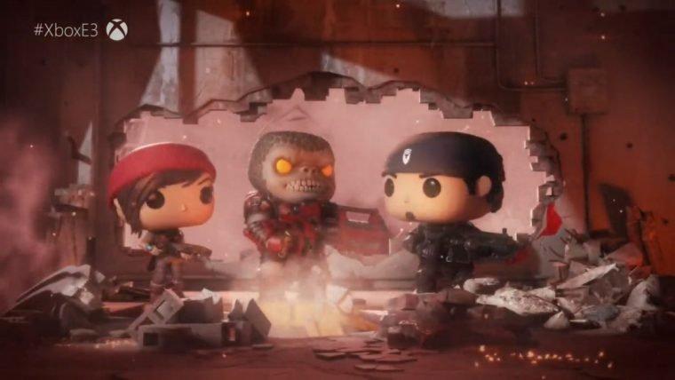 Gears of War vai ganhar jogo mobile em parceria com Funko Pop