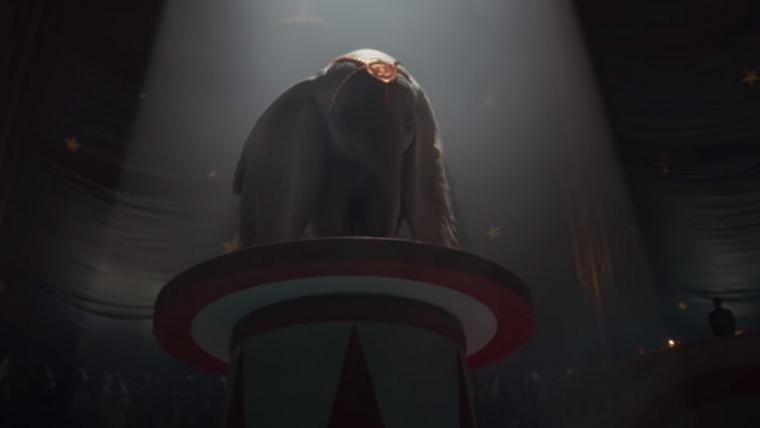Disney lança trailer do live-action de Dumbo
