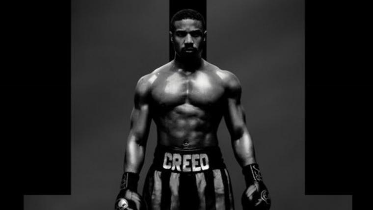 Adonis está pronto pra luta no primeiro cartaz de Creed II